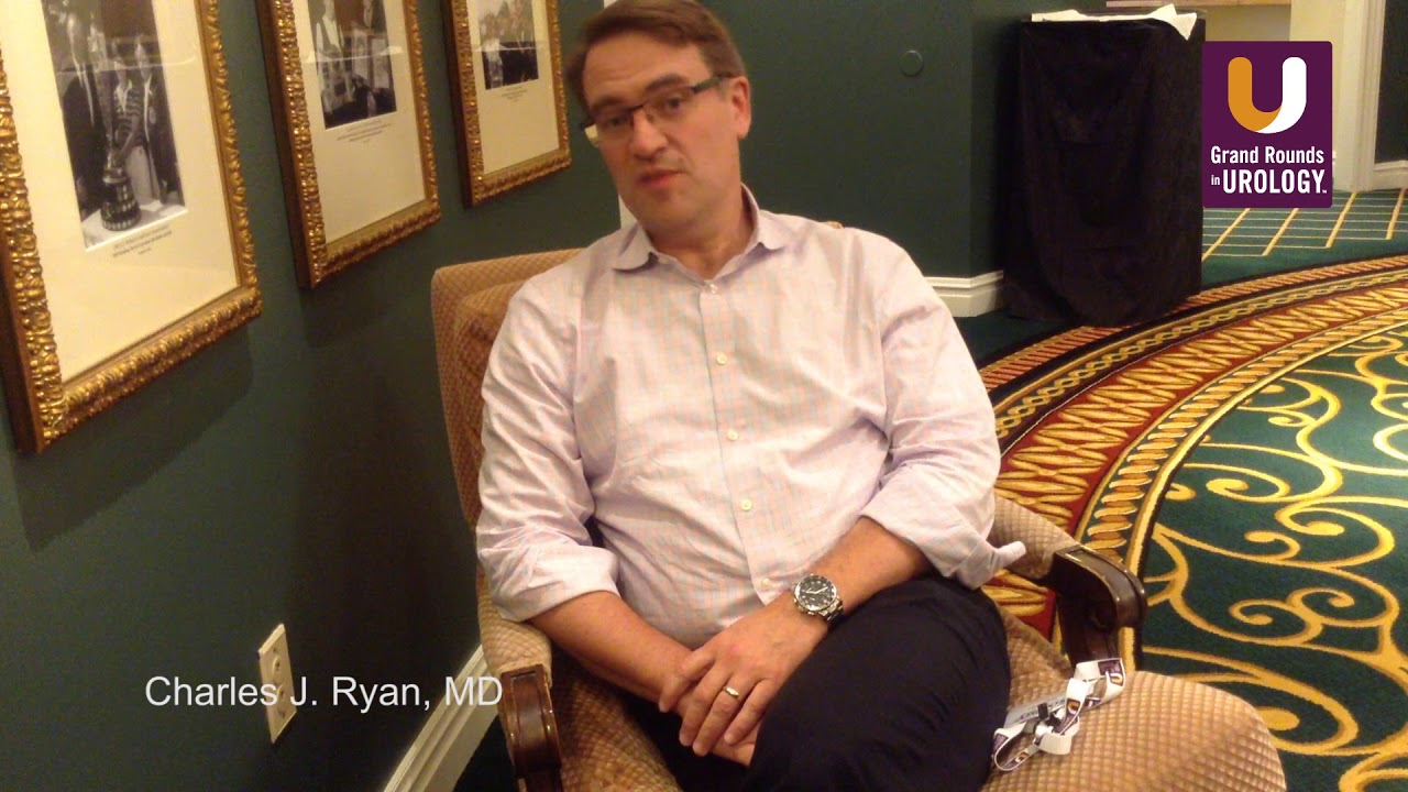 Charles J  Ryan, MD | Should Androgen Receptor Targeting Be Given Early?