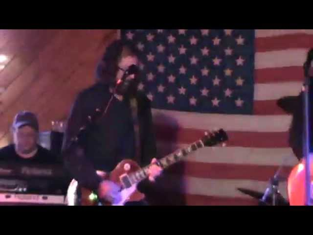CROSS TRAXX cover of THERE GOES ANOTHER LOVE SONG - 12/5/14  - WHISKEY WILLY'S