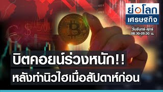 Bitcoin is falling heavily After making New Heights last week I shrink the world economy 19 Apr '21