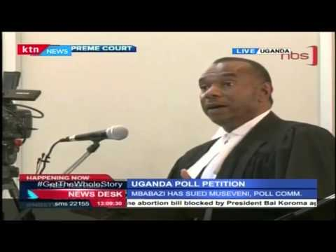 Uganda's Supreme Court listens to Mbabazi's Presidential Poll petition