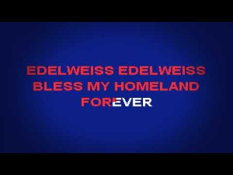 Rodgers and Hammerstein  Edelweiss Lyrics