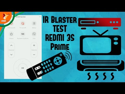 IR Blaster Test Xiaomi Redmi 3S Prime | Data Dock