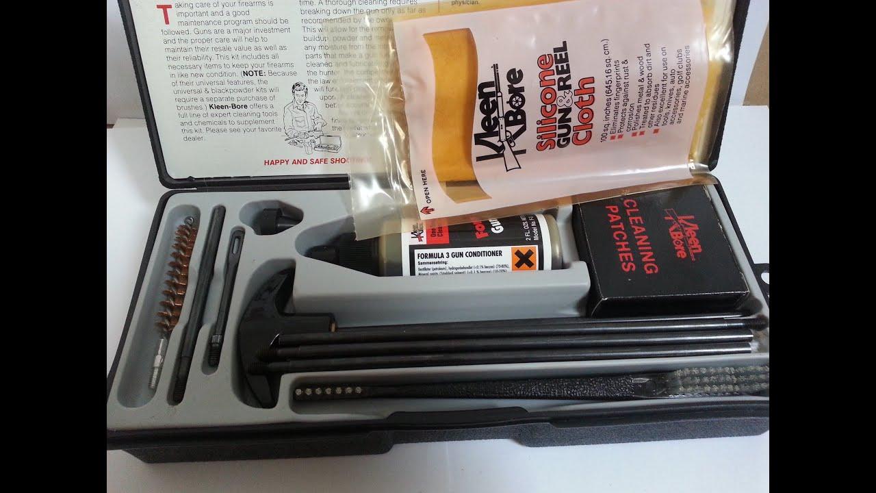 Kleen Bore Gun Cleaning Kit K 207 Youtube