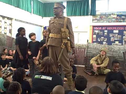 Holmleigh School Trench Brothers Performance November 2015