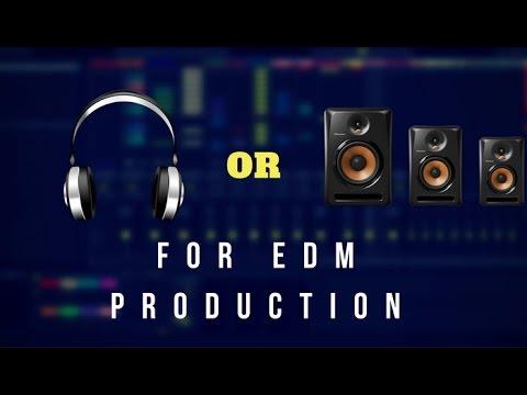 Should I get Headphones Or Monitors For EDM Production?| Vlog#4