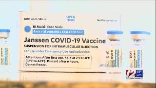 RI, Mass. temporarily halt use of J\u0026J vaccine