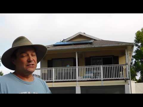 Solar Hot Water, Florida on Green Energy Adventures with the Turbine Guy