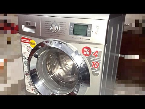 IFB Senator Aqua SX 8 KG Washing Machine Demo Part 2 by Akshay