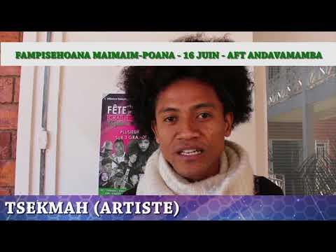 TSEKMAH - Fête de la musique 2018 AFT