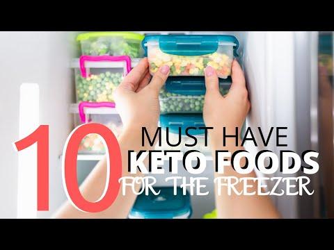 TOP TEN KETO FOODS TO KEEP IN YOUR FREEZER + 4 Dump and Go Freezer Friendly Keto Meals | Slow Cooker