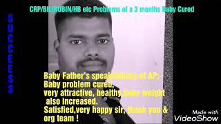 CRP/ASO/HB/Bilirubin Problems Cured/Svpso int non profit org/SVRI Inst/SVPSO ORG/TS/INDIA/BHARAT/Ind