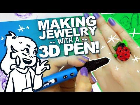 3D SCULPTURES I CAN WEAR?! | Sloth Necklace, Ladybug Ring, Bracelet
