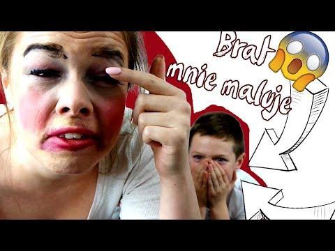 Mój brat mnie pomalował! OMG !!! Challenge