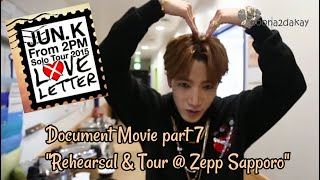 "JUN. K (2PM) - Love Letter solo tour Document Movie part 7 ""…"
