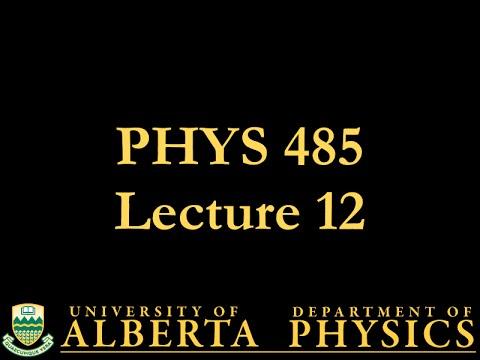 PHYS 485 Lecture 12: Fermi