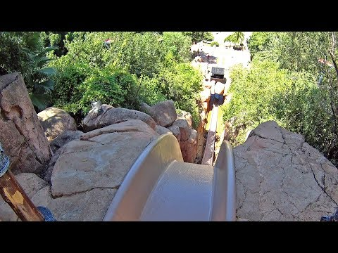 The Temple of Courage Water Slide at Valley of Waves
