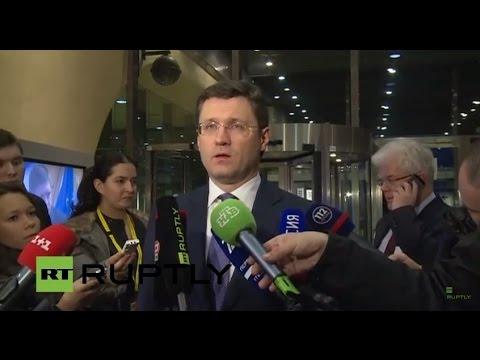 LIVE Novak's statement following Ukraine Gas Talks round in Brussels