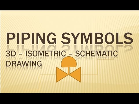 PIPING Symbols 3D   Isometric   Schematic Drawing   Pipingweldingndt