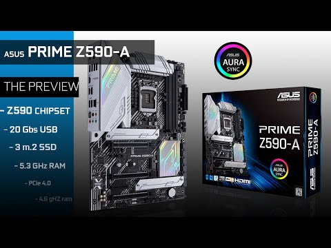 ASUS PRIME Z590-A :  The COMPLETE PREVIEW!