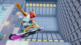 PLAYING LACHLAN'S DRIFTBOARD SKATEPARK In Fortnite Creative (avec code)