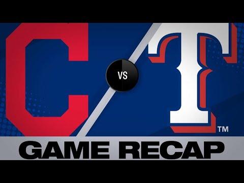 Dan Rivers - Indians Drop Series Finale To Rangers In Arlington