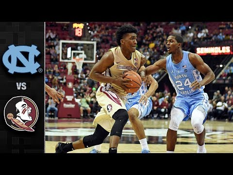North Carolina vs. Florida State Basketball Highlights (2017-18)