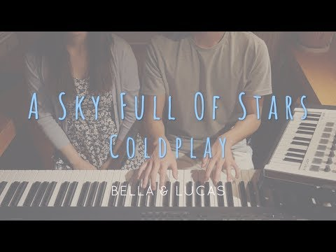 A Sky Full Of Stars - Coldplay 4hands piano cover