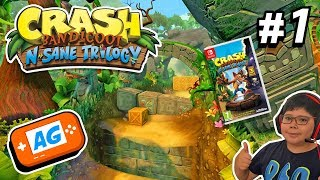 Crash Bandicoot  N Sane Trilogy para Nintendo Switch con BigManu