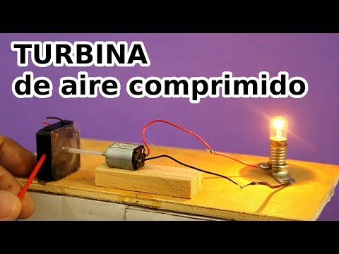 Turbina De Aire Comprimido Generador Eléctrico