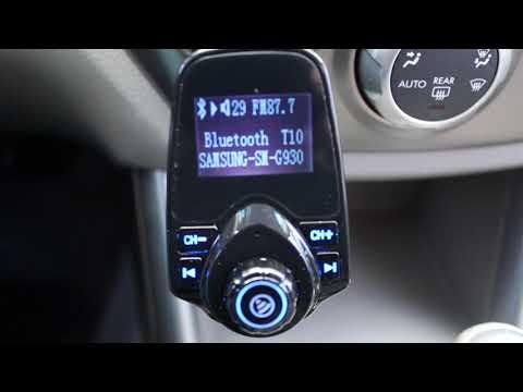 Vehicle Bluetooth to FM Transmitter setup tutorial