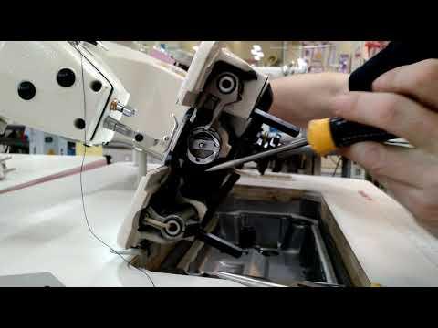 Заклинило промышленную швейную машину? Решаем самую распространенную проблему.