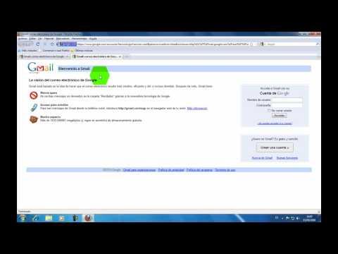 Curso Gmail: Como Ingresar A la Pagina de Inicio