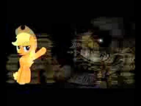 Май литл пони в игре 5 ночей с Фредди - YouTube