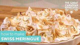 How To Make A Perfect Swiss Meringue | The Great Canadian Baking Show | CBC Life