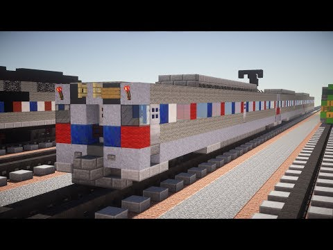 Minecraft SEPTA Silverliner IV EMU Tutorial