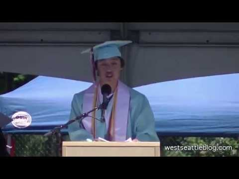 Speakers & more at Chief Sealth International High School 2015 Graduation