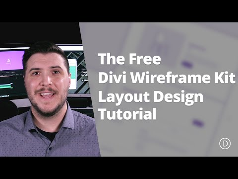 The Free Divi Wireframe Kit Layout Design Tutorial