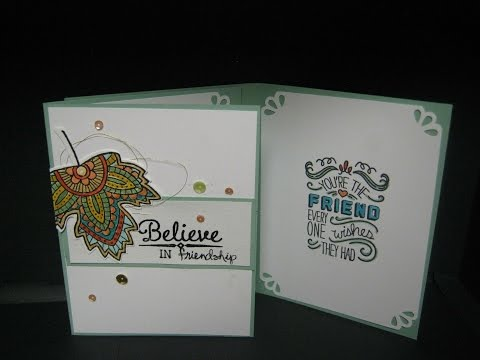 Stampin' Up Believe in Friendship