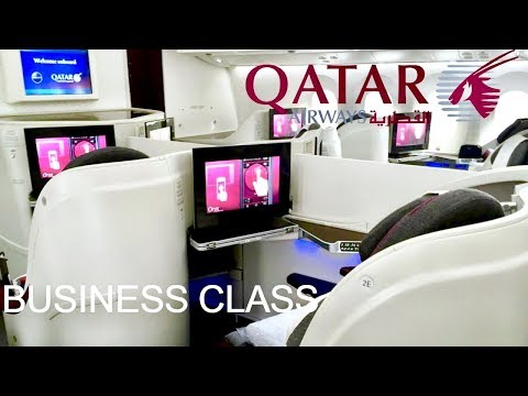 Qatar Airways Business Class Boeing 787 Dreamliner Doha to Tokyo Haneda
