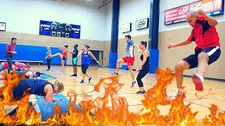 LEGS ON FIRE!!! Advanced Bootcamp Workout with NO EQUIPMENT
