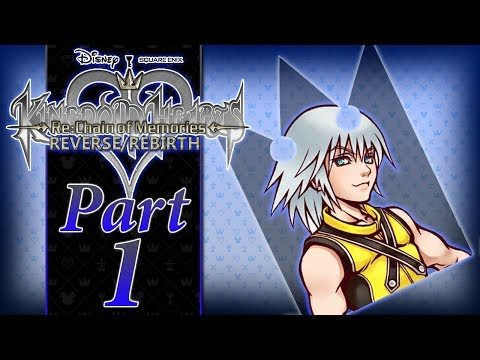 Kingdom Hearts Re: Chain of Memories R/R - PART 1 - A Questionable Start