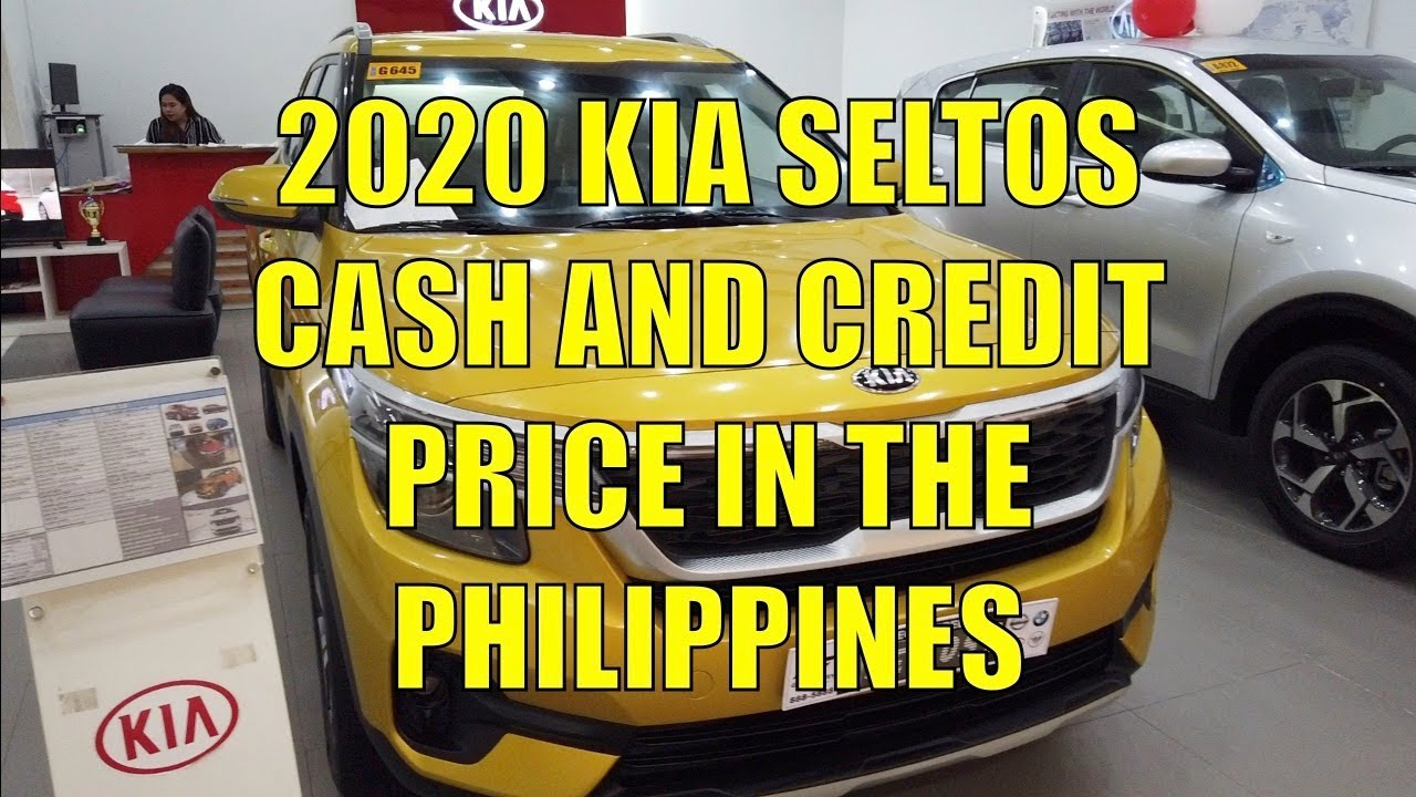 2020 Kia Seltos Cash And Credit Price In The Philippines Youtube