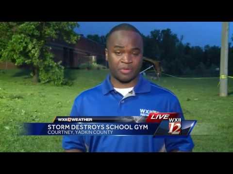 Staff reflect on damage at Courtney Elementary School