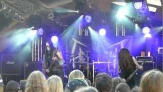 Unlight - That Old Black Magic Spell - live @ Meh Suff Metalfestival Huettikon 8.9.2012