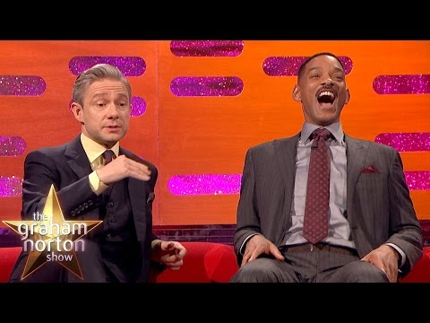 Martin Freeman Hates Getting Recognised at Urinals - The Graham Norton Show