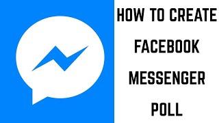 Facebook Messenger Anket Oluşturma
