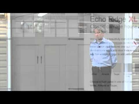 Richards wilcox echo ridge xl garage doors hamilton niagara youtube