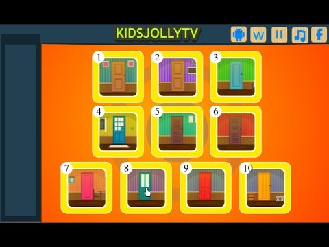 10 Golden Door Escape walkthrough Kidsjollytv.  sc 1 st  YouTube & 10 Golden Door Escape walkthrough Kidsjollytv. - YouTube pezcame.com