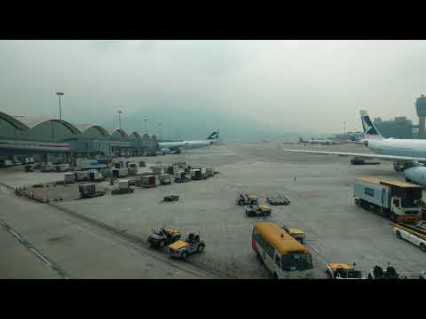 Changi Airport SIngapore Time Lapse Gary Hoover November 2017