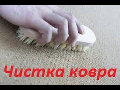 Как почистить ковровое покрытие в домашних условиях быстро и эффективно